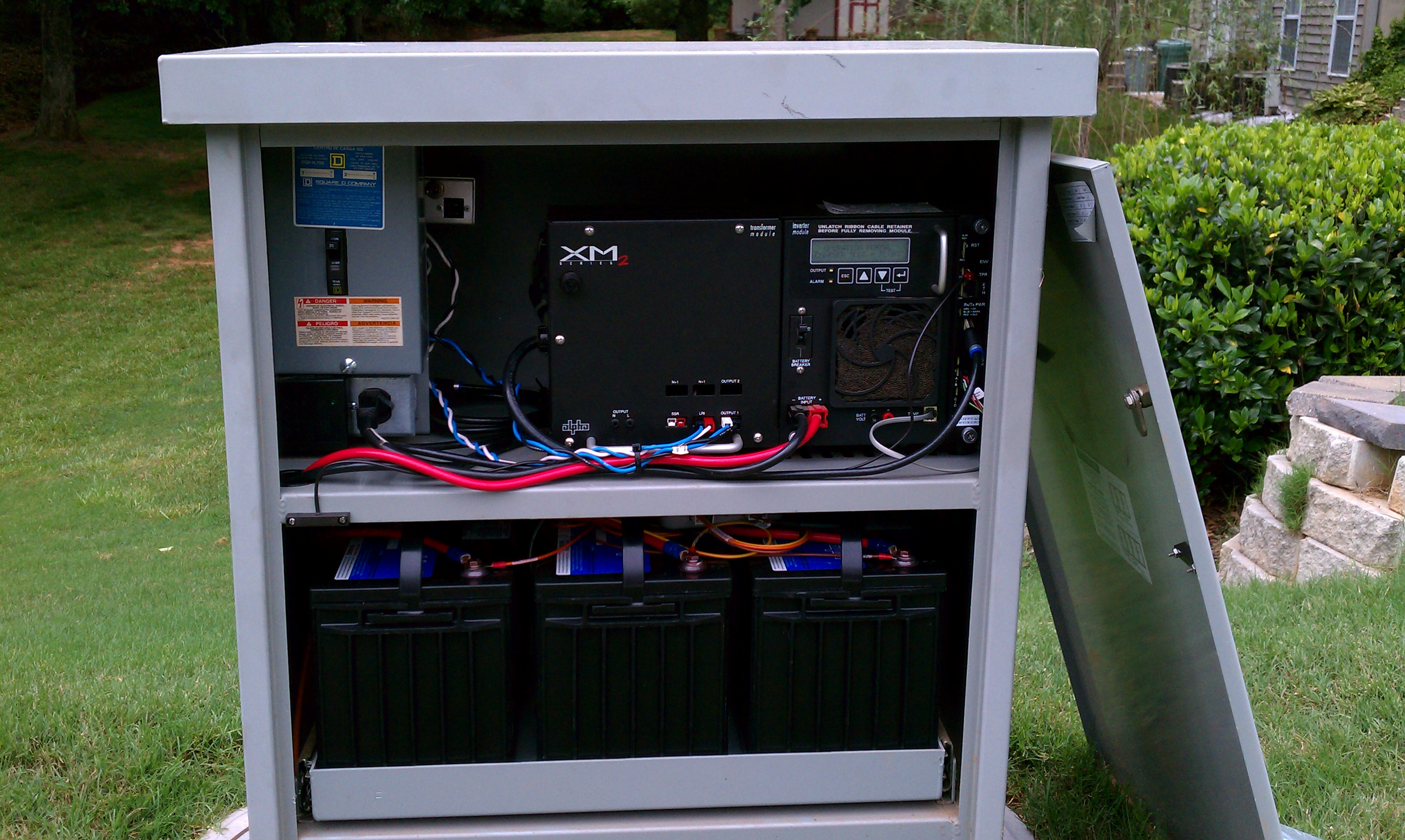 Ficoa Communications Charter Power Supply Upgrade